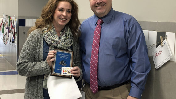 Cook, Christianson named GPS Employee's of the Month