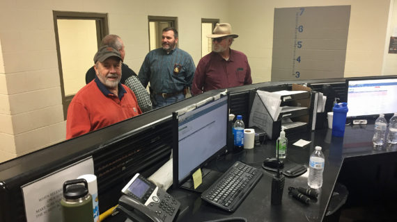 County commissioners conduct annual jail inspection; select chairman