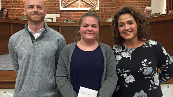 Watch: Peyton Hayes named Student of the Month
