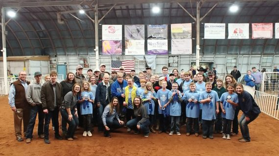 Guthrie FFA celebrates the Blue Ribbon Classic Special Jays Show