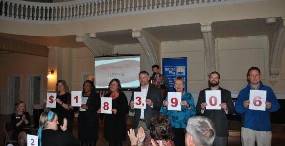 United Way celebrates success of 2018 fundraising campaign