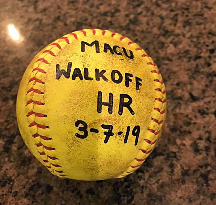 Cameron Jenkins delivers walk off home run for Lady Lions