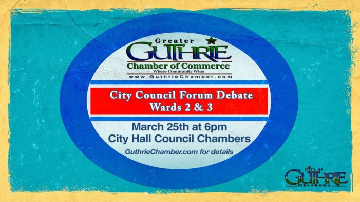 Watch: Guthrie City Council Candidates Open Forum
