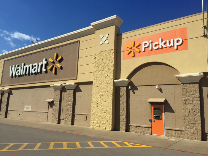Guthrie Walmart begins new grocery pickup service
