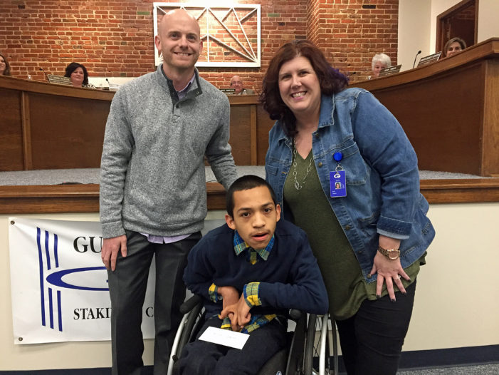 Watch: Jesse Cepeda named GPS Student of the Month