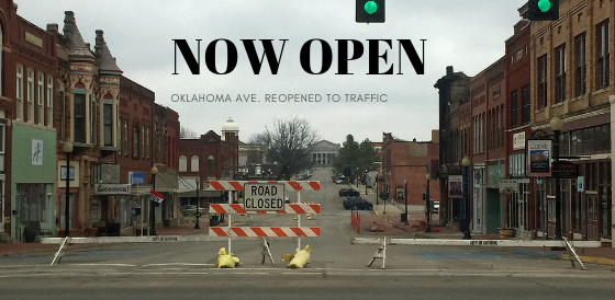 Oklahoma Ave. reopens following downtown fire