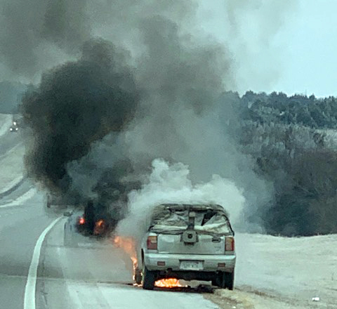 Follow Up: Two brothers help car fire victim on I-35