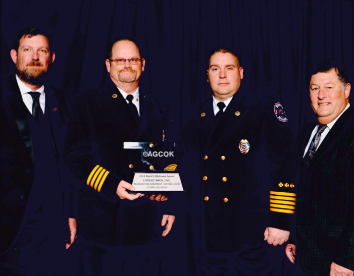 Woodcrest Fire Department awarded Best Project