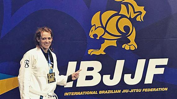 April Thompson wins gold in prestigious Jiu Jitsu tournament