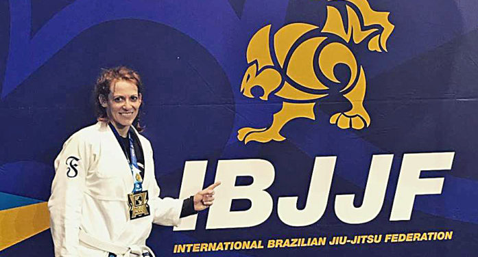 April Thompson wins gold in prestigious Jiu Jitsu tournament