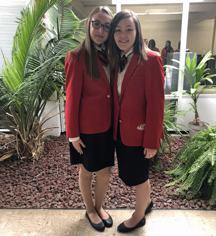 Allen, Waters elected FCCLA officers