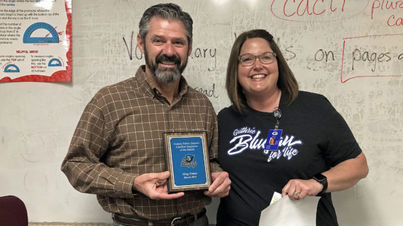 Boyce, Friese named GPS employees of the month