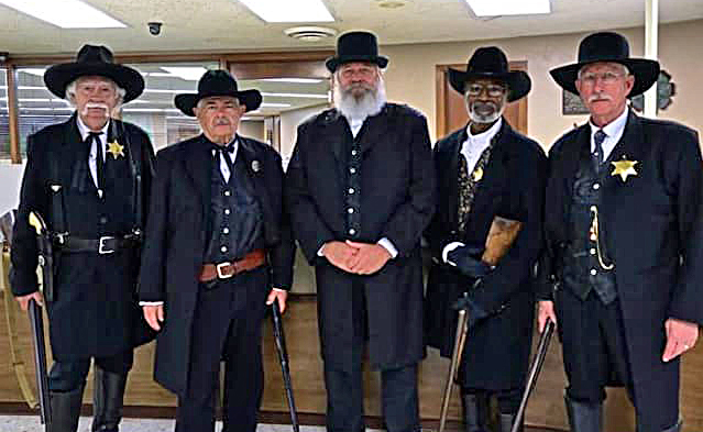 Historical Deputy Marshals to put on a show Saturday