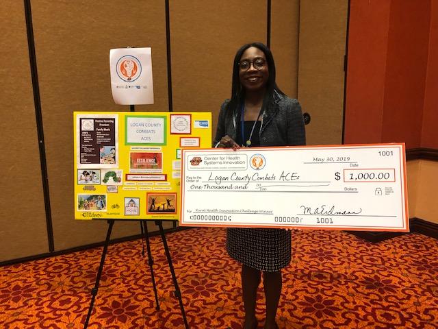 Logan County Partnership receives $1,000 grant