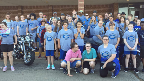 Watch: Guthrie Special Olympics Send Off
