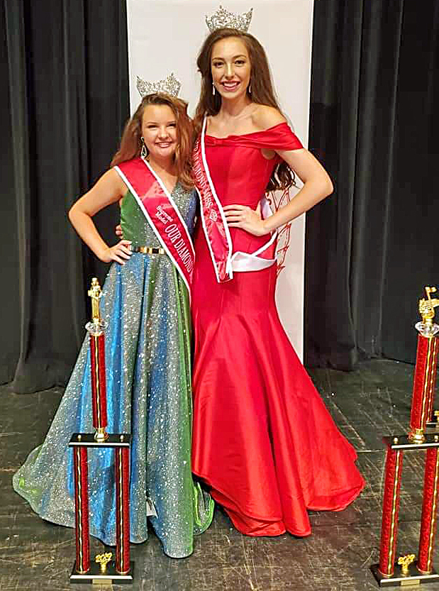 Wooden, Evans win titles at ODM State Pageant