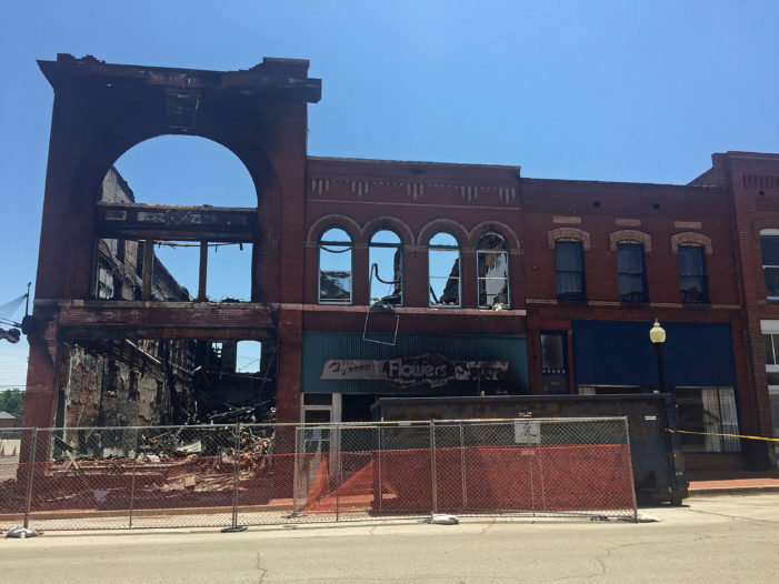 Watch: Local group granted 30 days for restoration plan for burned out downtown buildings