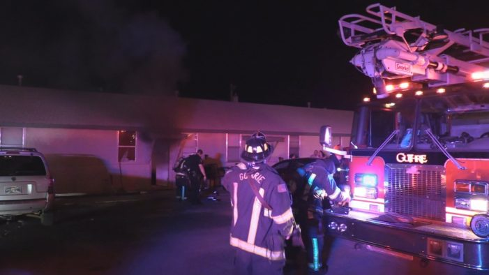 Video: Early morning apartment fire evacuates residents