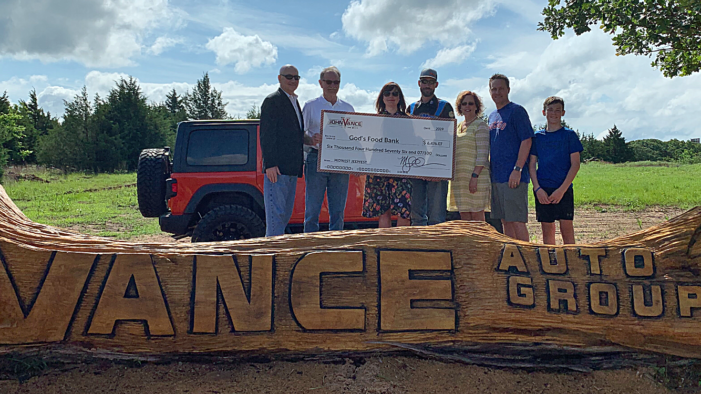 Jeep Fest 2019 raises over $6k for God's Food Bank