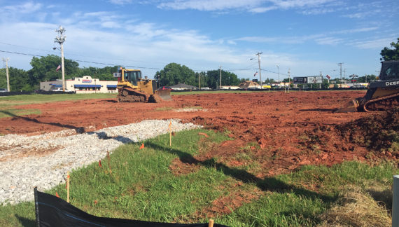 Dirt work begins for new medical facility on S. Division St.