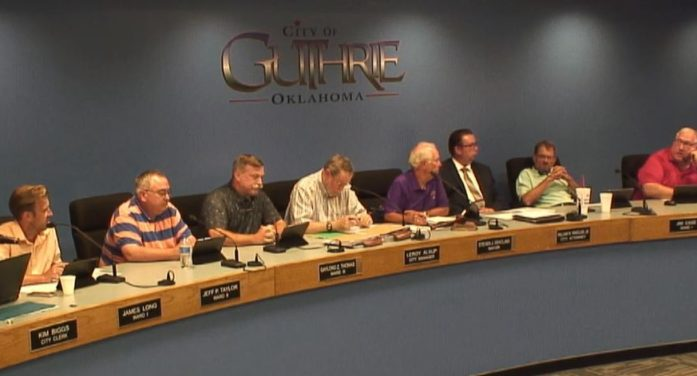 Video: Council members share heated exchange