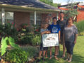 Evans home selected as Yard of the Week by Garden Club