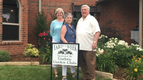Goodyear home selected as Yard of the Week by Garden Club