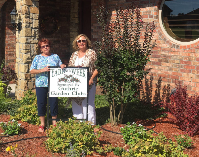 Balsiger home selected as Yard of the Week by Garden Club