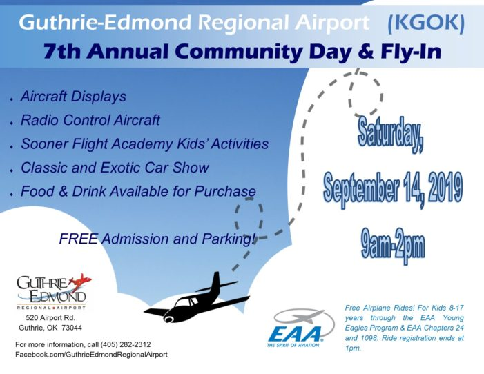 Guthrie airport hosting 7th annual Community Day & Fly-In