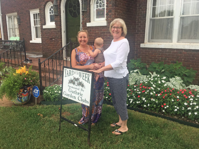 Helvey's home selected as Yard of the Week by Garden Club