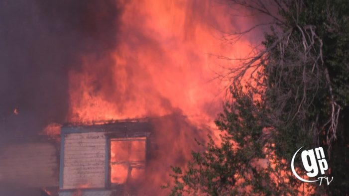 House catches fire for a second time