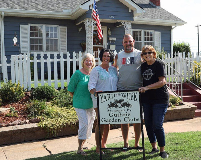 Riggs home selected as Yard of the Week by Garden Club